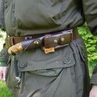Six Magpies Leather Equipment Over Belt